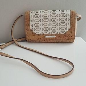 Stella & Dot Nolita Cork Vegan Crossbody Handbag
